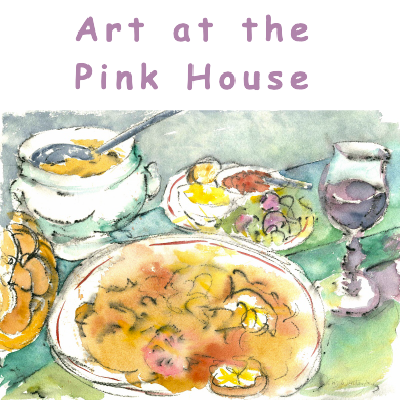 Art at the Pink House